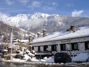 Ristorante La Croix Blanche inverno